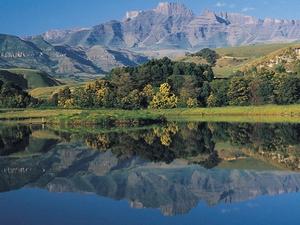 View from Drakensberg